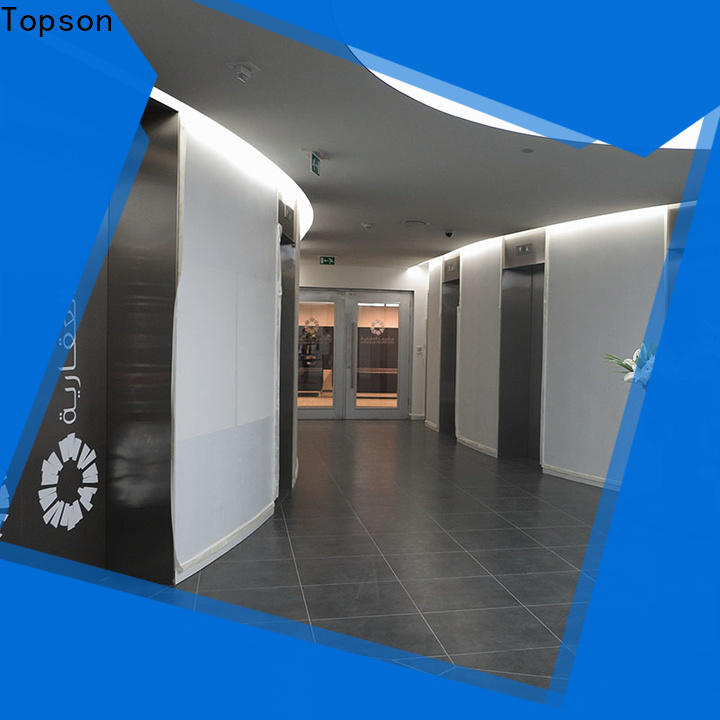 Topson high-tech double steel entrance doors Suppliers for roof decoration