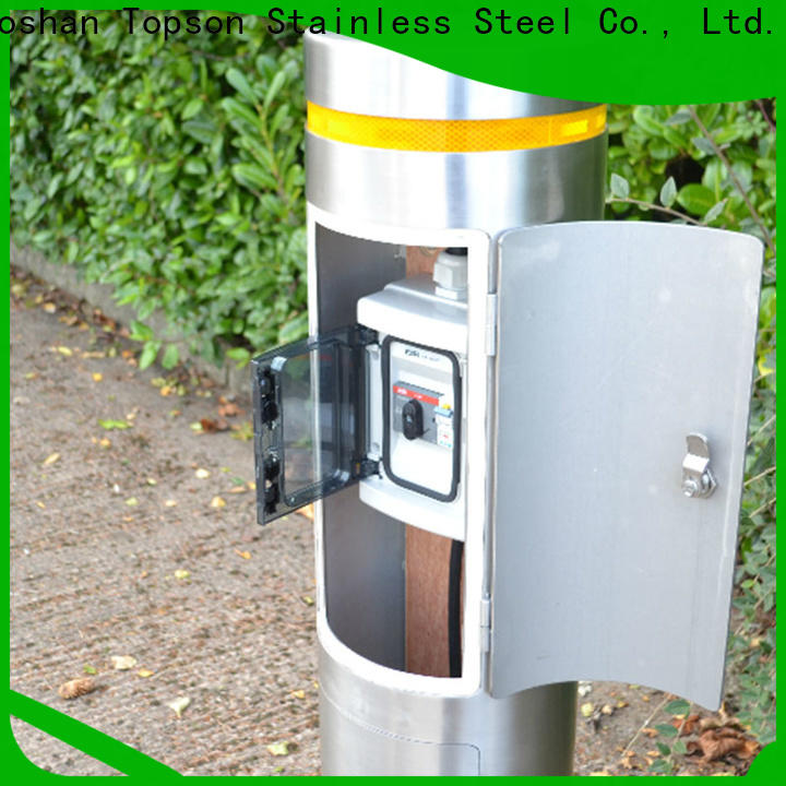 Topson contemporary stainless bollards factory for building