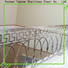 Topson curved glass and steel staircase railing company for building