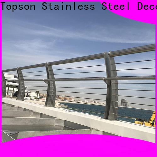 popular cable porch railing system steel company for office