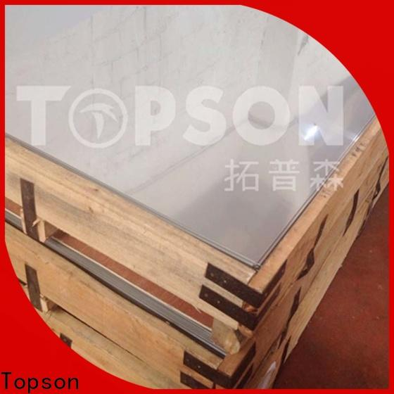 Topson stainless sheets for sale Supply for kitchen