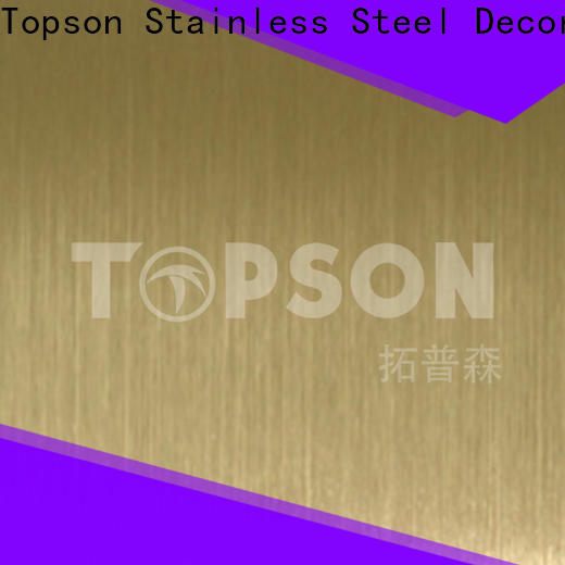 Topson antique decorative sheet steel China for vanity cabinet decoration
