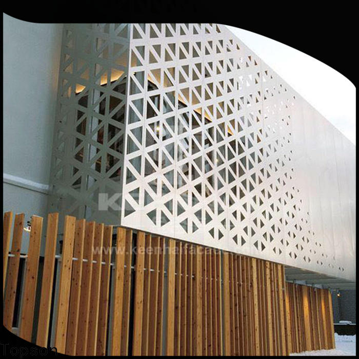 Custom metal screen panels mesh manufacturers for curtail wall
