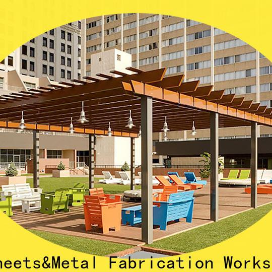 manufactured aluminium garden gazebo pergola factory for garden