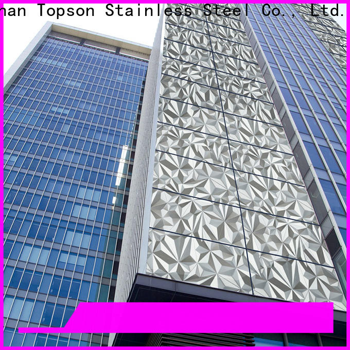 Topson wall horizontal wall cladding factory for wall