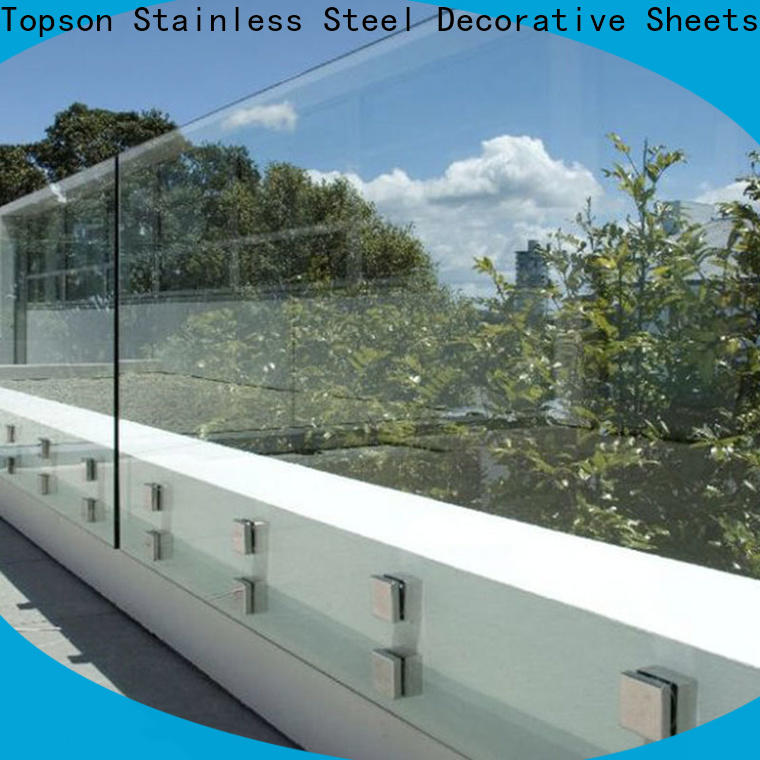 Topson parition glass guardrail from wholesale for bar