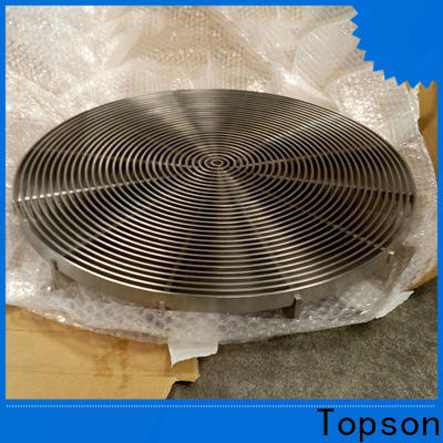 Topson grating serrated galvanized steel grating company for tower
