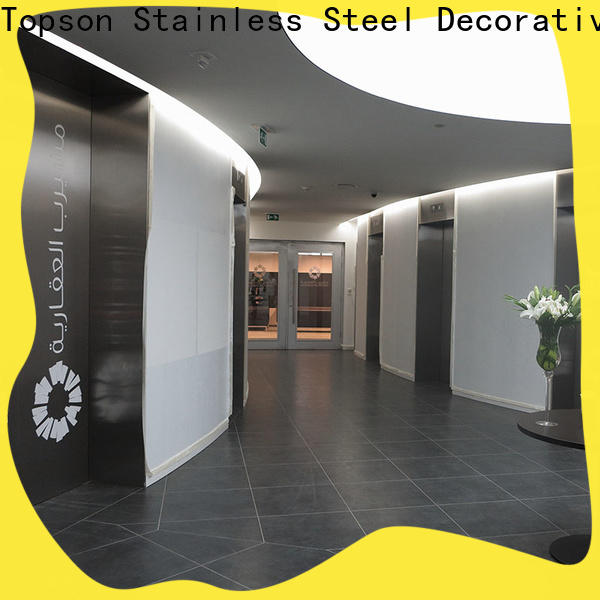Topson handles commercial steel doors and frames prices factory for outdoor