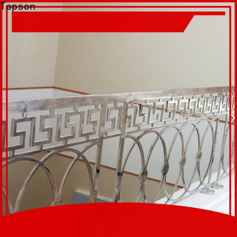 reliable stainless steel wall handrail staircase Supply for mall