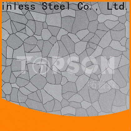 Topson New stainless steel sheet metal suppliers Suppliers for kitchen