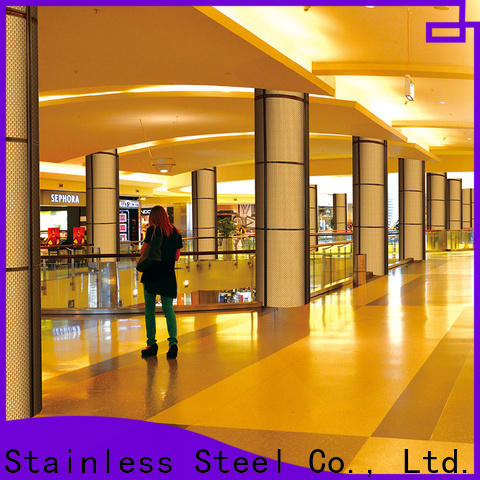 Topson good-looking stainless steel wall cladding sheets factory for wall