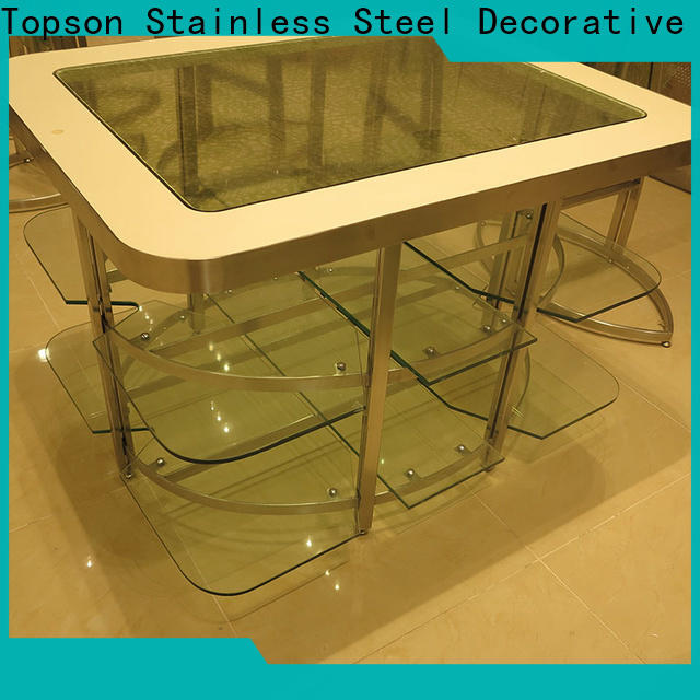 Topson stainless retro metal porch furniture company for hotel lobby decoration