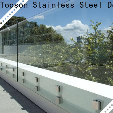 Topson High-quality wholesale insulated glass factory for outdoor