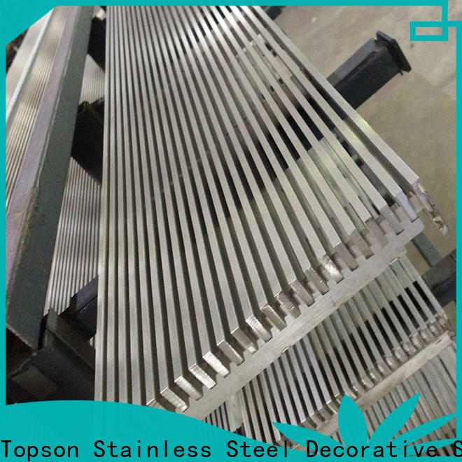 durable steel safety grating cnc for mall