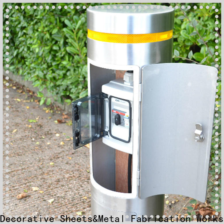professional metal bollards for sale stainless manufacturers for office