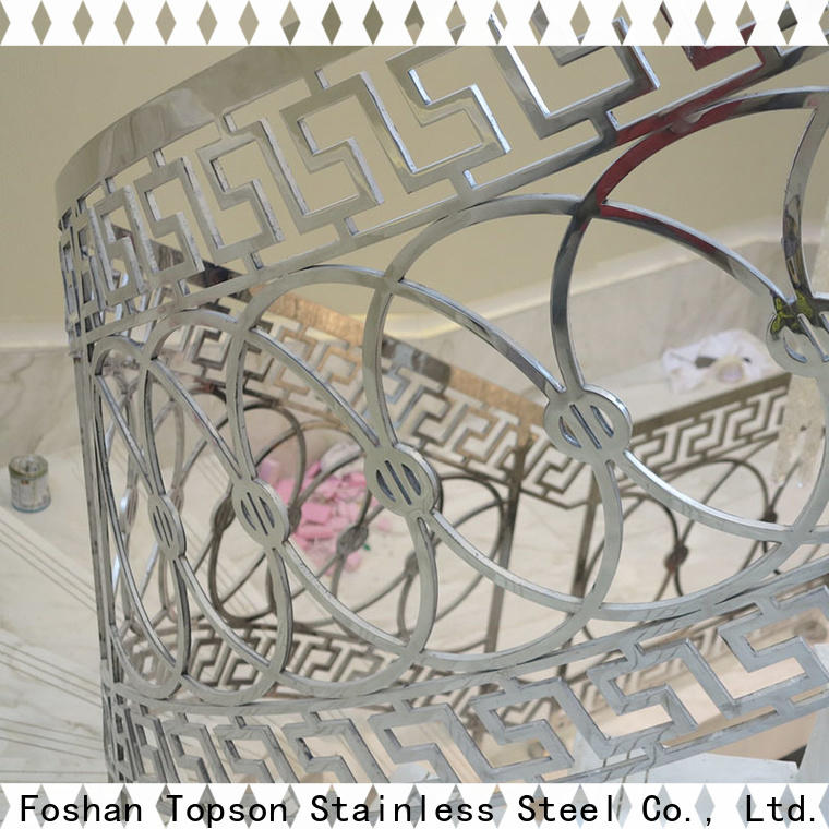 High-quality stainless steel glass railing systems staircase company for tower