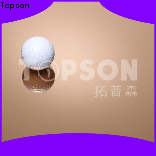 Topson brushed stainless steel sheet for furniture