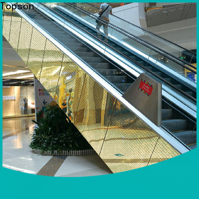 Topson door stainless steel cladding fixings Supply for elevator
