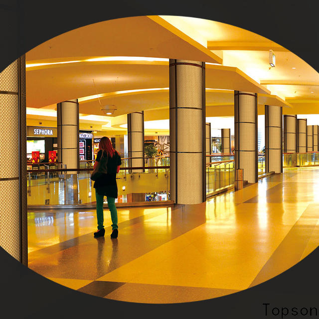 Latest interior roof cladding stainless in china for shopping mall