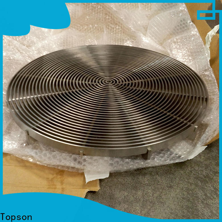 Topson gratingstainless stainless steel channel drain grates company for hotel
