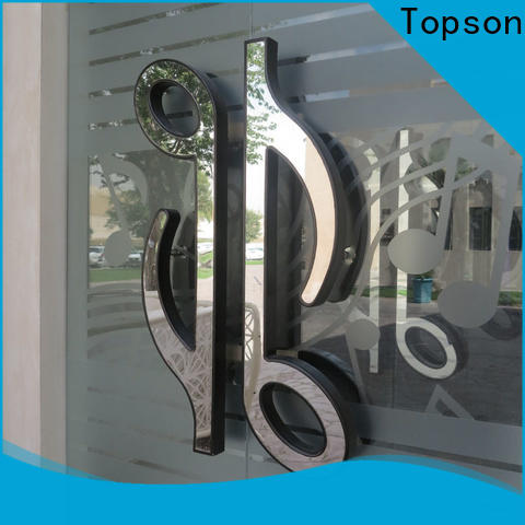 Topson steel stainless steel bar drawer pulls company for roof decoration