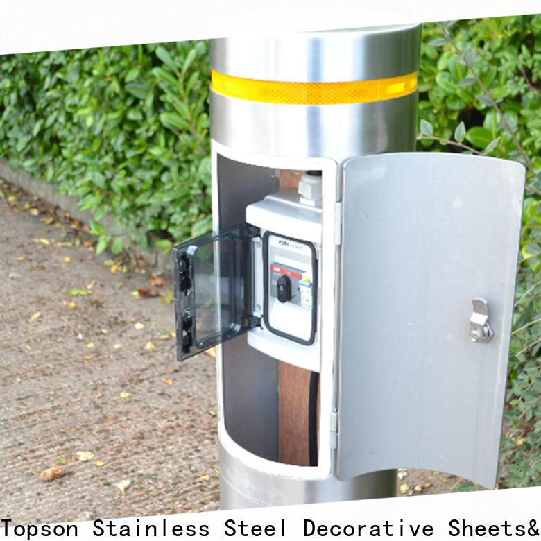 high-tech 4 steel bollards steel Suppliers for office