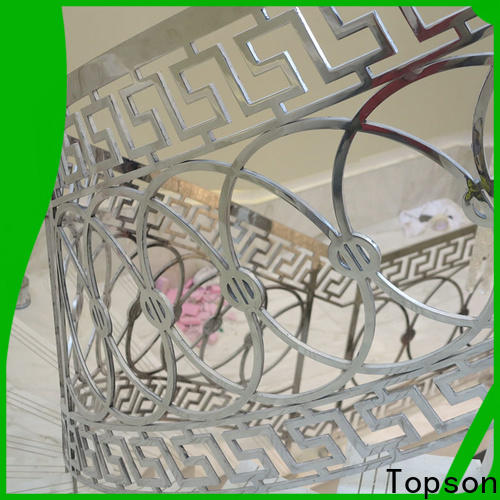 Topson Best steel deck railing systems manufacturers for mall