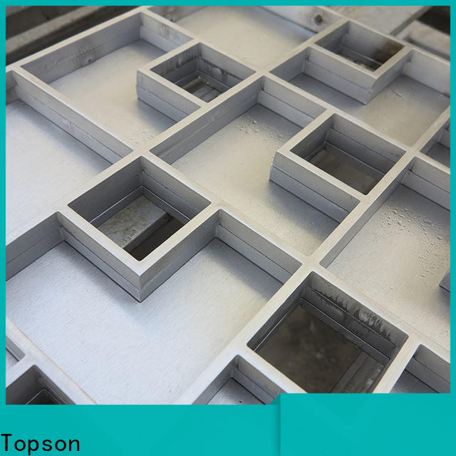 Topson inspection replacement round floor drain covers factory for hotel
