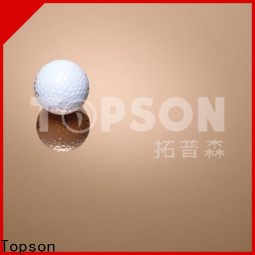 Topson bead stainless steel sheet sizes Supply for interior wall decoration