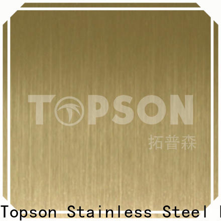 Topson High-quality vibration finish stainless steel China for kitchen