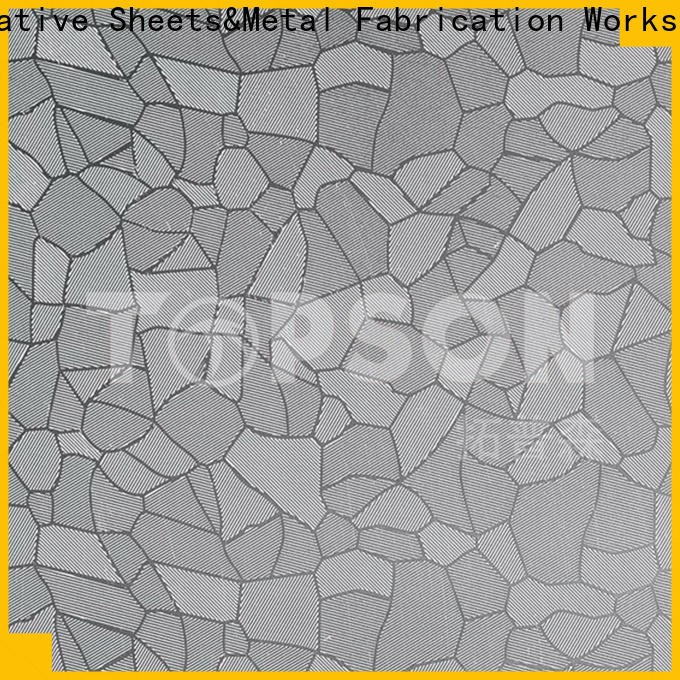 Topson etching buy stainless steel sheet metal for handrail