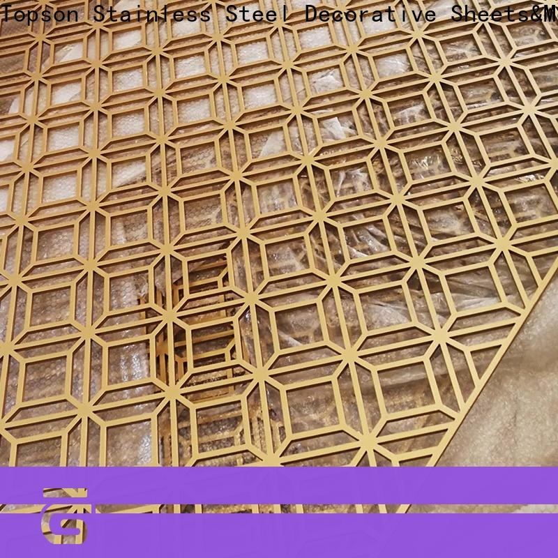 decorative metal screen panels screenperforated for business for curtail wall