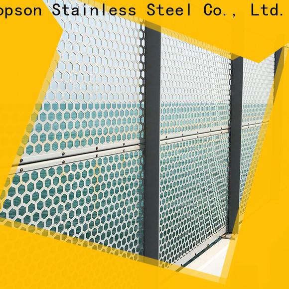 Top exterior metal screens screens Supply for exterior decoration