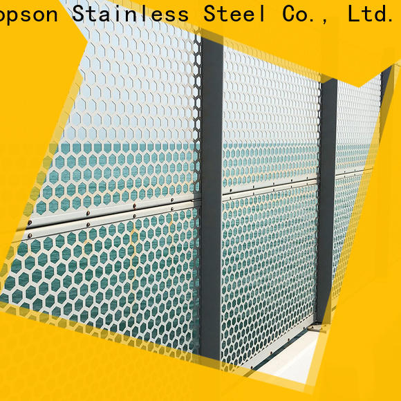 Top exterior metal screens screens Supply for exterior decoration