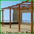 Topson frame construction pergola aluminium China for park