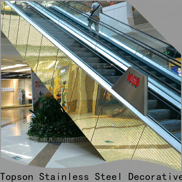 Topson jamb commercial kitchen wall sheeting for wholesale for elevator