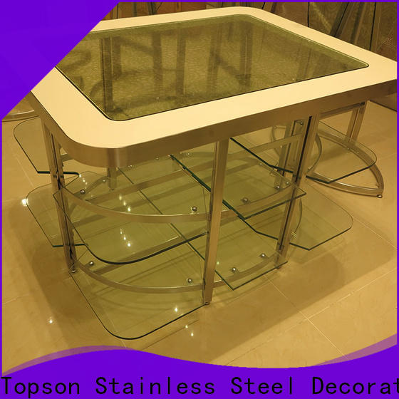metal and glass garden furniture