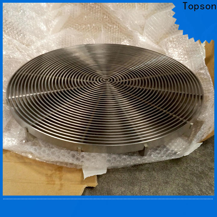 Topson gratingexpanded stainless steel mesh grate for business for office