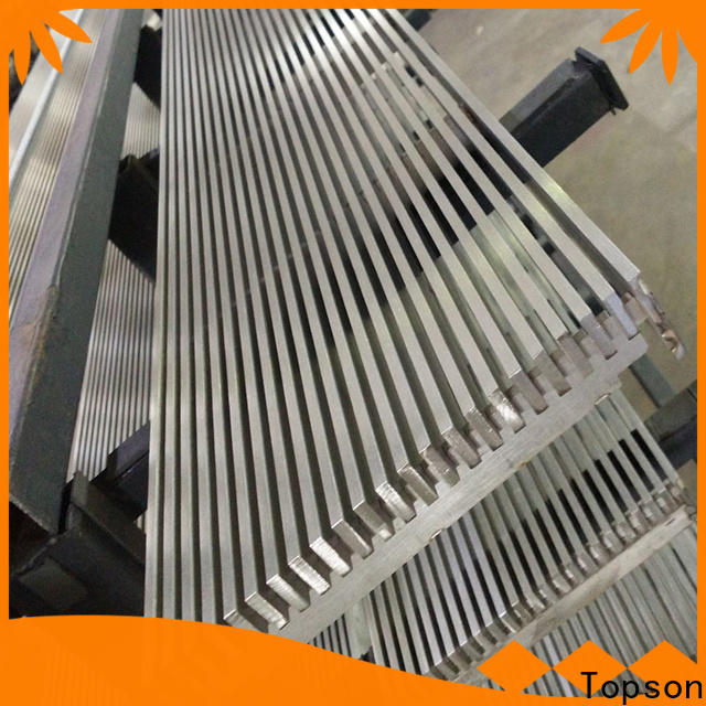 competetive price stainless steel bar grating price perforated company for room