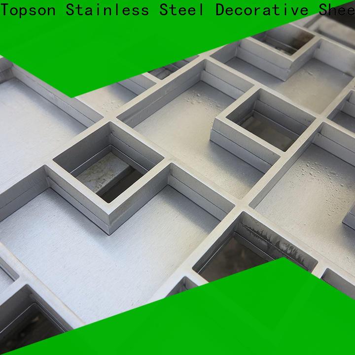 Top exterior floor grates steel for bridge corridor for area building