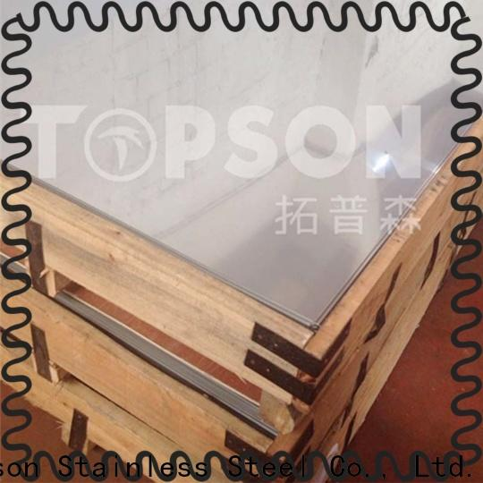 Topson steel sheets of sheet metal Suppliers for furniture