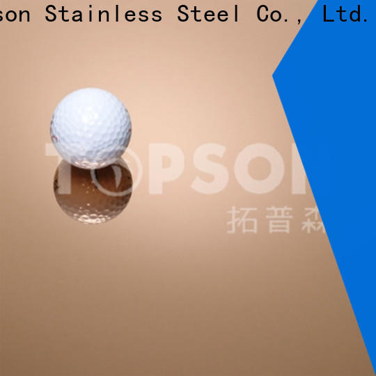 Topson High-quality stainless steel sheets China for vanity cabinet decoration