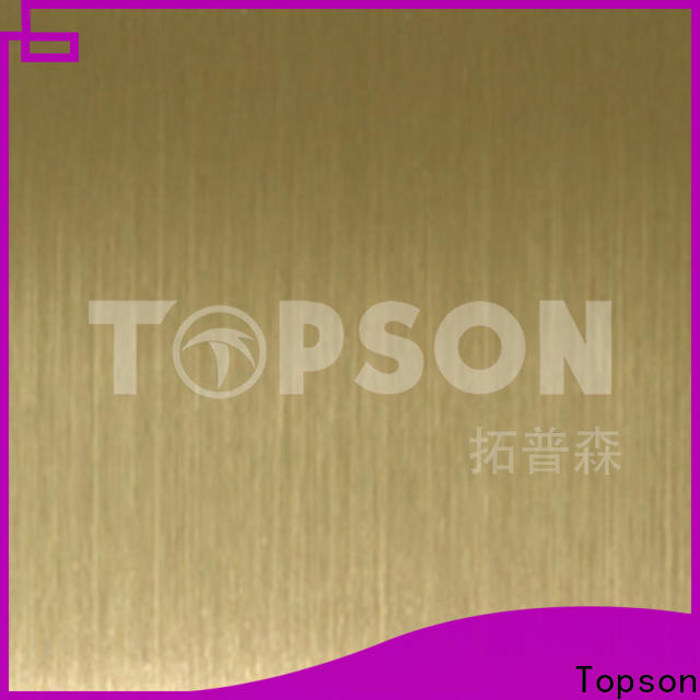 Topson High-quality steel plate decoration China for partition screens