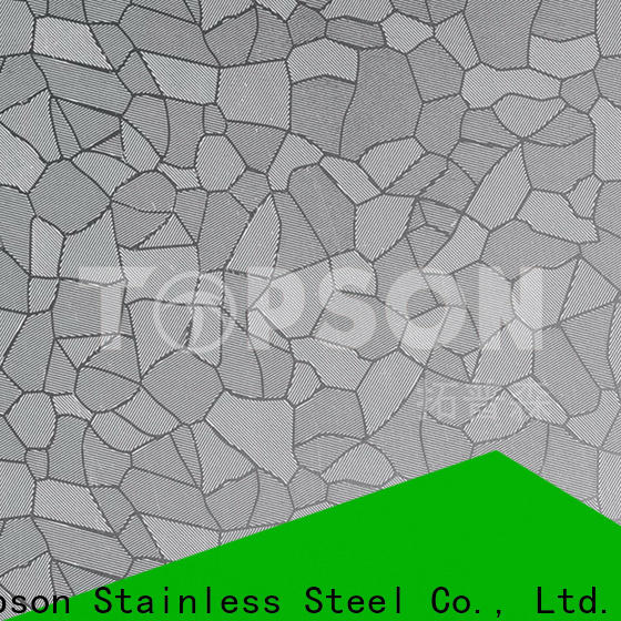 Topson material decorative steel sheet metal for business for interior wall decoration