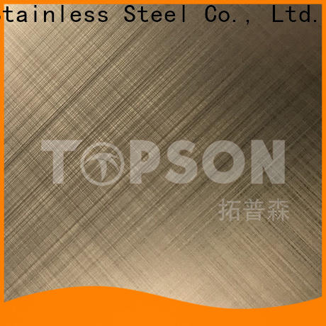 colorful brushed stainless steel sheet stockists for vanity cabinet decoration