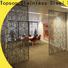 Topson special design perforated metal mesh screen from china for landscape architecture