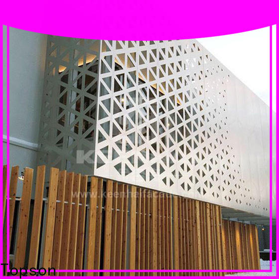 great practicality perforated plate screen panels manufacturers for curtail wall