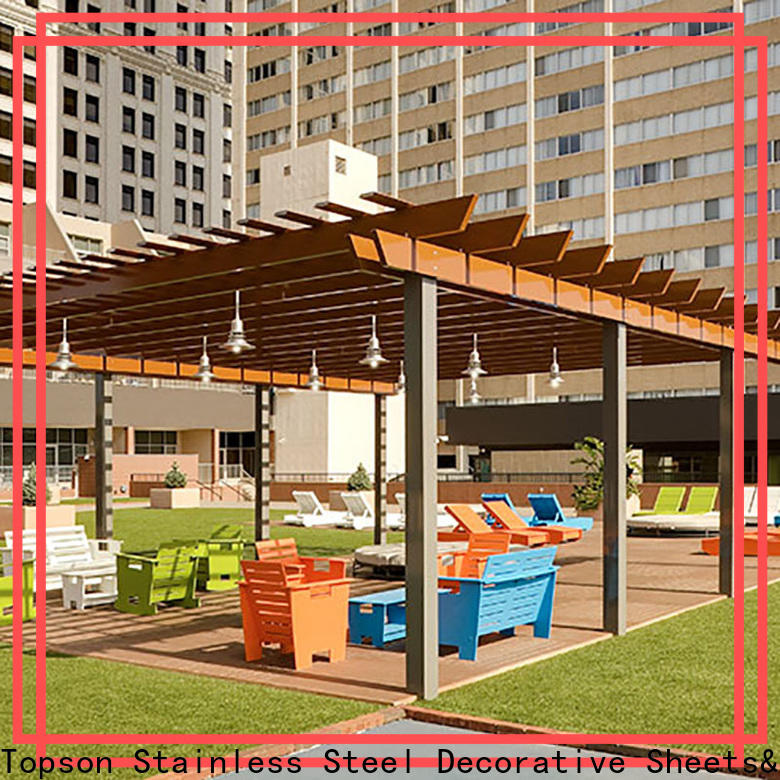 Topson high-density sheet metal works inc manufacturers for hotel