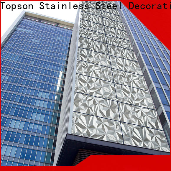 high quality building wall cladding column company for elevator