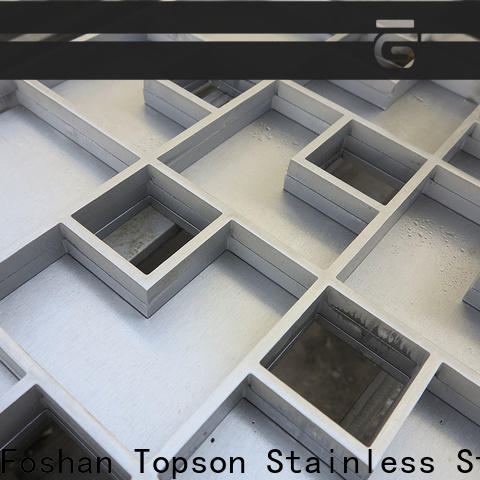 Topson stainless shower trench drains stainless steel Suppliers for bridge corridor for area building